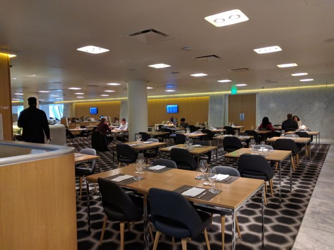 Qantas Lounge LAX
